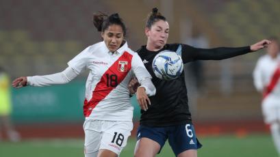 Lima 2019: Selección Peruana femenina cayó ante Argentina por el Grupo B