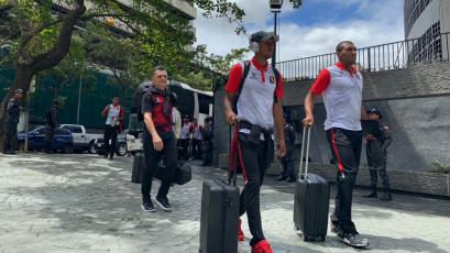Melgar ya se encuentra en Venezuela para medirse ante Caracas FC