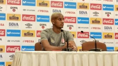 """André Carrillo: """"Vamos a enfrentar los tres partidos con la misma seriedad"""""""