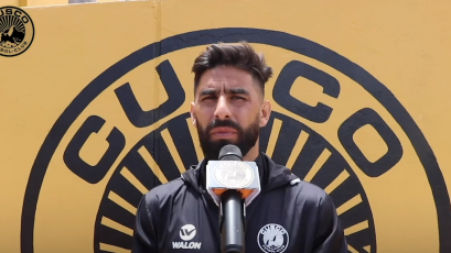 "Maximiliano Barreiro: ""Es un privilegio estar en Cusco FC"""