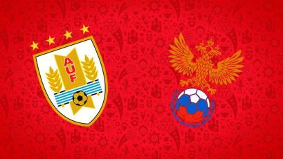 Rusia 2018: Rusia y Uruguay se disputan el liderato del grupo A