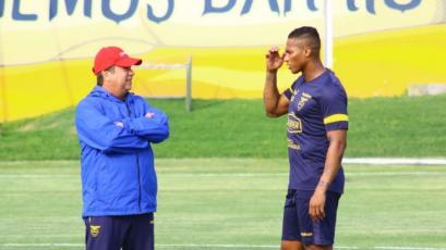 Selección Ecuatoriana: Antonio Valencia lidera el posible once frente a Perú