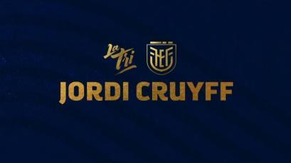 Ecuador eligió al hijo de Johan Cruyff como su nuevo entrenador