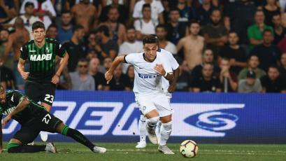 Serie A: Inter sorprende perdiendo en su estreno