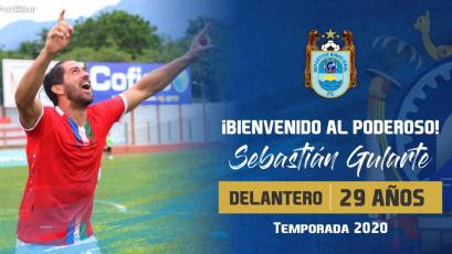 Deportivo Binacional hizo oficial el fichaje de Sebastián Gularte por todo el 2020