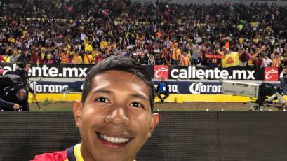 Edison Flores fue presentado en Morelia con el dorsal 14