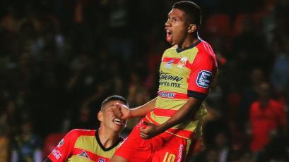 Liga MX: Edison Flores anotó golazo con el Monarcas Morelia ante Santos Laguna (VIDEO)