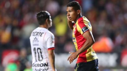 Morelia: Edison Flores anotó un gol contra el poderoso Tigres de México (VIDEO)