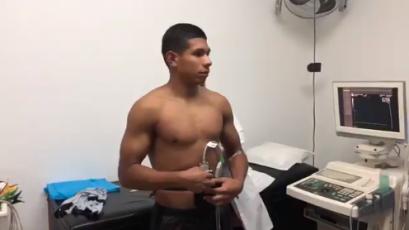 Edison Flores pasa las pruebas médicas en Morelia