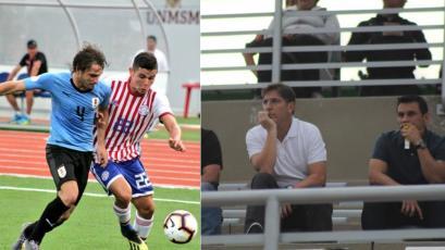 Sudamericano Sub 17 Perú 2019:  Eduardo Berizzo estuvo en San Marcos viendo a Paraguay