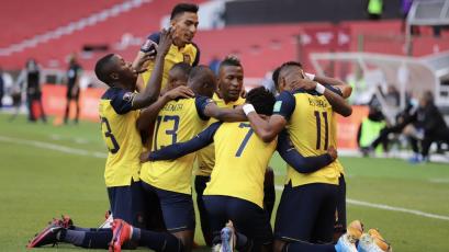 Clasificatorias Sudamericanas: Ecuador superó por 4-2 a Uruguay por la fecha 2