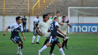 Universitario y San Martín no pasaron del empate