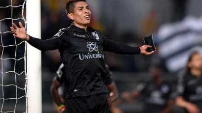 Paolo Hurtado se mantiene con el dorsal # 16 en Vitória Guimarães