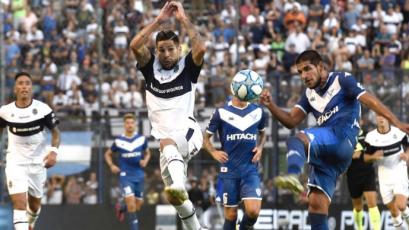 Luis Abram vio acción en el empate sin goles entre Vélez y Gimnasia (VIDEO)