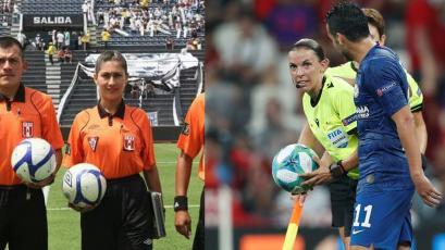 Árbitra peruana dedicó emotivo mensaje por actuación de su colega francesa en Supercopa de Europa