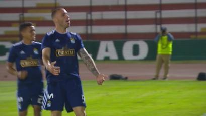 Emanuel Herrera establece nuevo récord goleador con Sporting Cristal