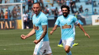 Sporting Cristal: así entrenan Emanuel Herrera y Jorge Cazulo en casa (VIDEO)