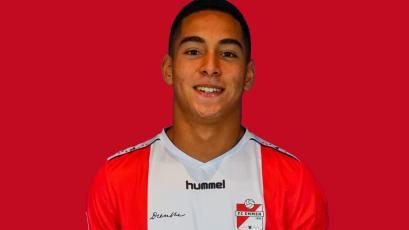 Didier La Torre: así fue el debut de uno de los peruanos en FC Emmen