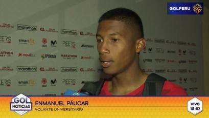 Enmanuel Páucar: