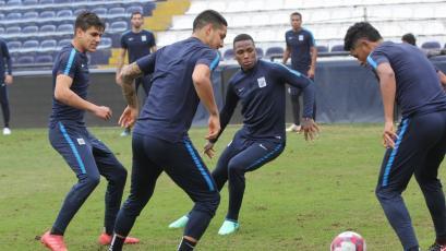 Alianza Lima sigue preparándose para su partido ante San Martín