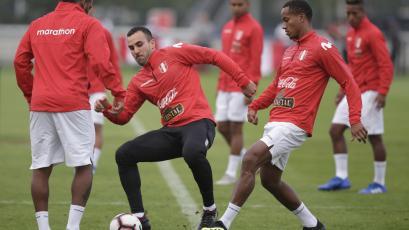 Selección Peruana: La blanquirroja tuvo su primer entrenamiento en Holanda