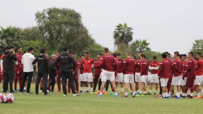 Universitario de Deportes sigue preparándose para su debut en el Torneo Clausura