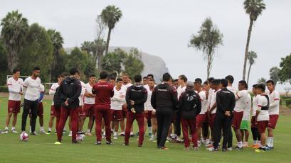 Universitario de Deportes sigue preparándose para la décima fecha del Torneo Clausura