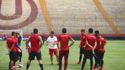 Universitario de Deportes siguen entrenando con miras a la tercera fecha del Torneo de Verano