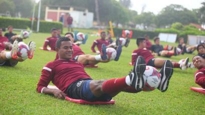 Universitario de Deportes sigue preparándose para el partido amistoso con Andrea Pirlo