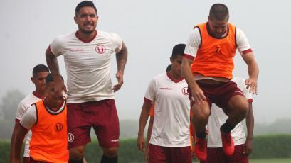 Universitario de Deportes sigue entrenando con miras al partido ante Sporting Cristal