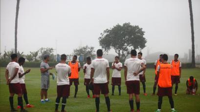 Universitario de Deportes sigue preparándose para la segunda fecha del Torneo de Verano
