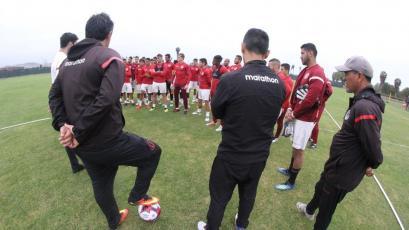 Universitario de Deportes sigue mentalizado en el partido ante Deportivo Binacional