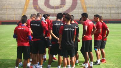 Universitario de Deportes quedó listo para el partido ante Universidad San Martín