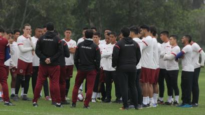 Universitario de Deportes sigue con su preparación de cara a la última fecha del Apertura