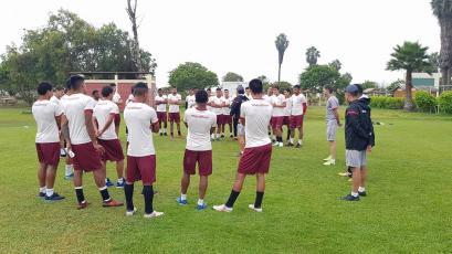 Universitario de Deportes retomó los entrenamientos de cara al partido ante Alianza Lima