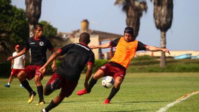 Universitario de Deportes continúa con sus entrenamientos con miras al inicio de la Copa Movistar