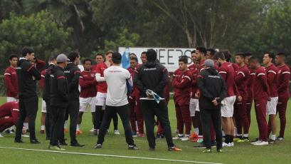 Universitario de Deportes sigue entrenando de cara al encuentro ante Deportivo Municipal