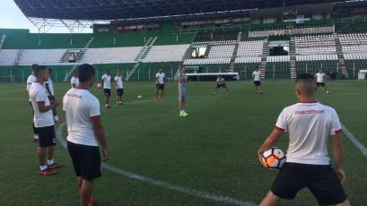 Universitario de Deportes reconoció el estadio Tahuichi Aguilera en Santa Cruz
