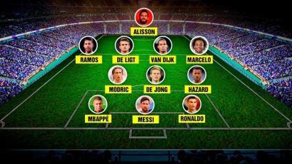 The Best de la FIFA anunció el equipo ideal de la temporada 2018-19 y nadie lo puede creer