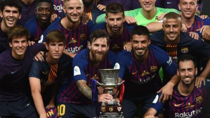 Barcelona abre la temporada ganando su Supercopa de España # 13