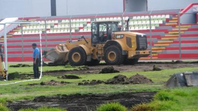 Inician obras de mantenimiento en el Estadio Ciudad de Cumaná