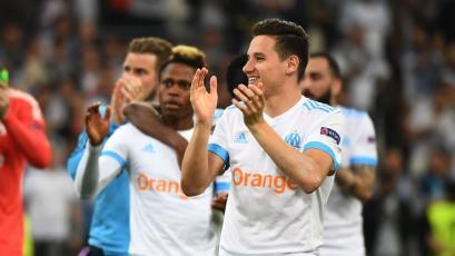 Europa League: Marsella vence al Salzburg y pone un pie en la final