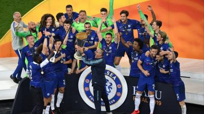 Europa League: Chelsea derrotó al Arsenal (4-1) y se coronó campeón