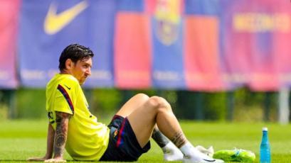 Barcelona: Lionel Messi sufrió una lesión a una semana del reinicio de LaLiga