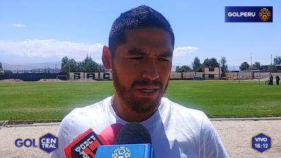 """Joel Sánchez: """"El primer objetivo es hacer una buena Libertadores"""""""