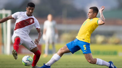 Selección Peruana Sub 20 cayó en torneo amistoso ante Brasil