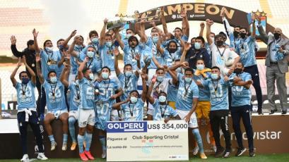 Sporting Cristal: el cuadro celeste fue líder del acumulado por tercer año consecutivo