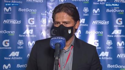 """Flabio Torres sobre el empate de Binacional: """"Cienciano nos sometió en el primer tiempo"""" (VIDEO)"""