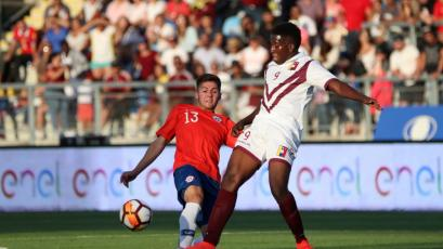 Sudamericano Sub 20: Venezuela se impuso ante el local Chile