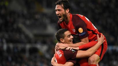 Sevilla supera a la Lazio por la mínima y sueña con una nueva Europa League
